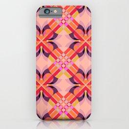 Matholwch - Colorful Abstract Art Pattern iPhone Case