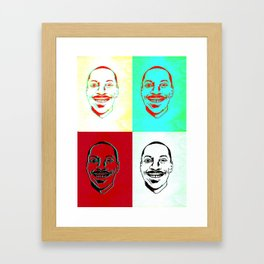 Character Actor Framed Art Print