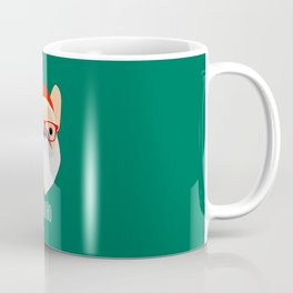 Santa Bulldog Coffee Mug