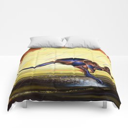 Kangaroo Dreaming Comforters