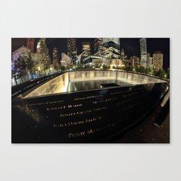 Ground Zero Canvas Print