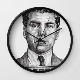 Lucky Crime Boss Wall Clock