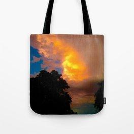 Florida Sunrise Orange Sky Tote Bag