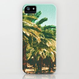 Coconut Tree Lineup iPhone Case