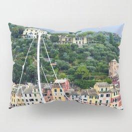 Portofino Harbour Italy Pillow Sham
