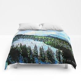 Downhill Slide Comforters