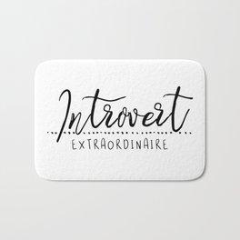 Introvert Extraordinaire Bath Mat