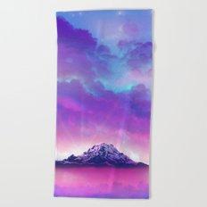 Colorful Peaks  Beach Towel