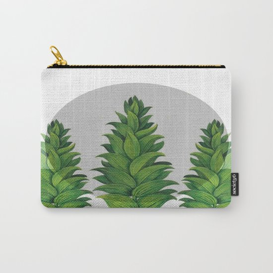 three green trees Carry-All Pouch