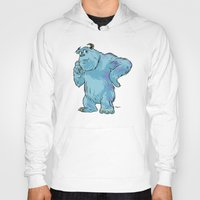 "monsters inc Hoodies featuring Monsters, Inc. | James P. ""Sulley"" Sullivan by Brave Tiger Designs"