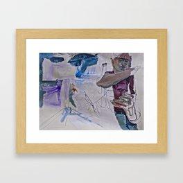 Bleak Kiss Framed Art Print
