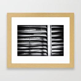 Angle of Venting I Framed Art Print