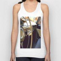 car Tank Tops featuring Car  by Kristina Haritonova