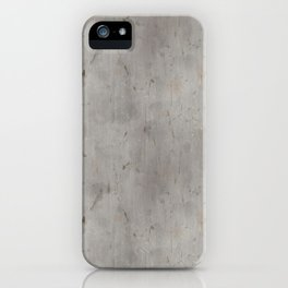 Dirty Bare Concrete iPhone Case