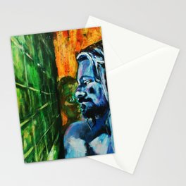bath room situation number 357 Stationery Cards