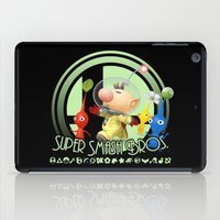 super smash bros iPad Cases featuring Olimar - Super Smash Bros. by Donkey Inferno