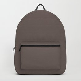 Grey Earth - Solid Color Trend Fall Winter 2019 2020 - Mid Century Modern Backpack