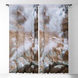 Kerlingarfjöll Mountain Range In Iceland - Landscape Photography Blackout Curtain