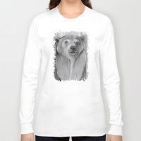 teddy bear Long Sleeve T-shirts featuring Teddy Bear by Puddingshades