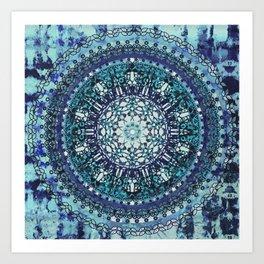 Monterey Mandala Art Print
