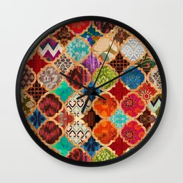 V34 Epic Traditional Colored Artwork Wall Clock