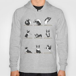 Boston Terriers Yoga Hoody