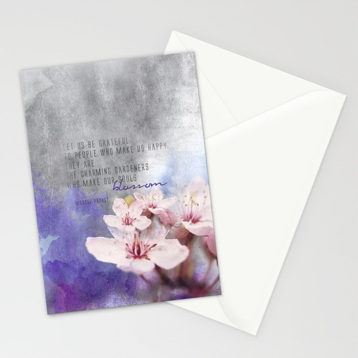 Our Charming Gardeners Stationery Cards