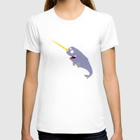 narwhal T-shirts featuring Narwhal by anto harjo