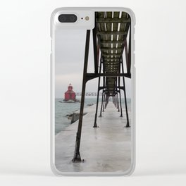 North Pierhead Clear iPhone Case