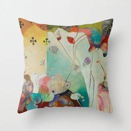 Birdsongs Throw Pillow