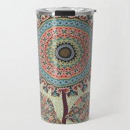 Fabby Flower-Vintage colors Travel Mug