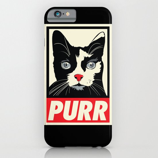 PURR Propaganda iPhone & iPod Case