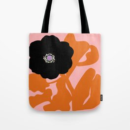 Clumsy Flower Tote Bag
