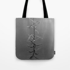Alone in silence Tote Bag
