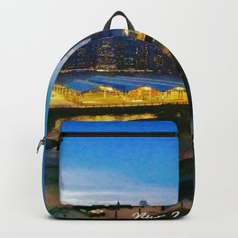 New York City as viewed from the Beautiful Brooklyn Heights Backpack
