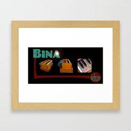 Bina Deluxe Harmonium Framed Art Print
