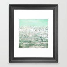 The Shining Sea Framed Art Print
