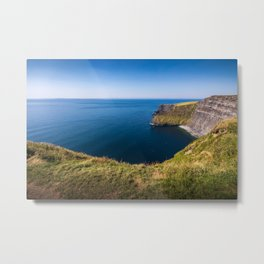 Cliffs of Moher, Ireland Metal Print