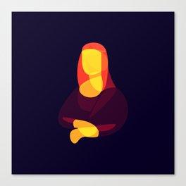 Mona L Canvas Print