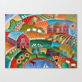 BONNIE DOON HILLS Canvas Print