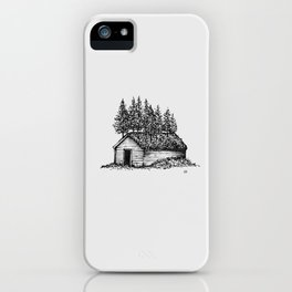 Shack & Trees iPhone Case