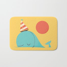 Party Hat Bath Mat