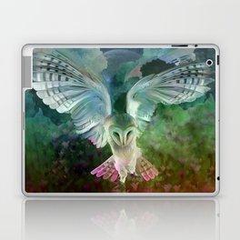 """Owl flight and spring night"" Laptop & iPad Skin"
