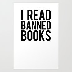 Banned Books REvised Art Print