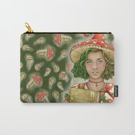 The Mushroom Witch Carry-All Pouch