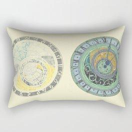 Astrolabe Studies Rectangular Pillow