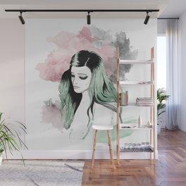 green Wall Mural