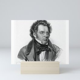 Kriehuber- Portrait of Schubert Mini Art Print