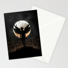 Lost in the world of humanity Stationery Cards