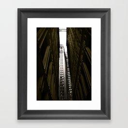NY Downtown Framed Art Print